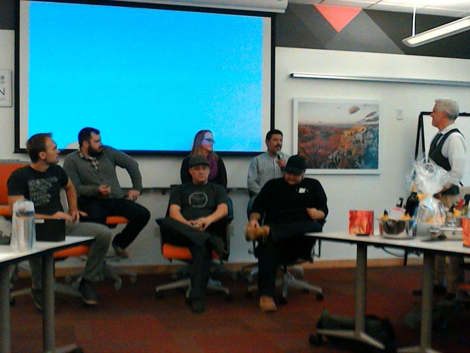 Novel panel of @LocalStart_Org members &:their products at  #1MCKC https://t.co/uQab3KYF7r