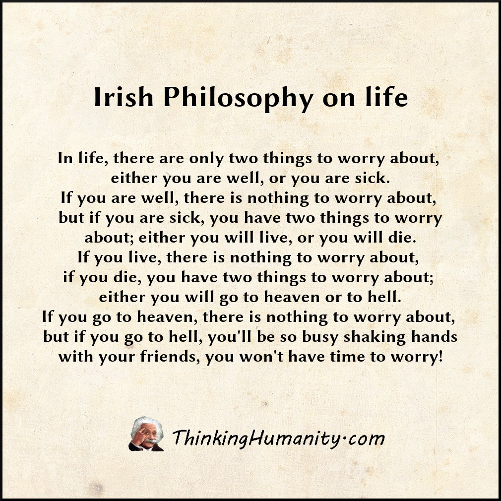 Famous Irish Quotes About Life Flying Horse Sense » Famous Quotes