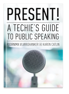 Just launched Present! A Techie's Guide to Public Speaking. Check it out here: https://t.co/TmwYQIEGZ8 https://t.co/qkpj1eDLg7