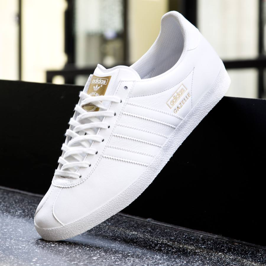 hot sale online 6d5f0 e71c1 Restocked the triple white and triple black Gazelle from adidas Originals  httpbit.ly1McrPe0 pic.twitter.comlyMzE4JQnA