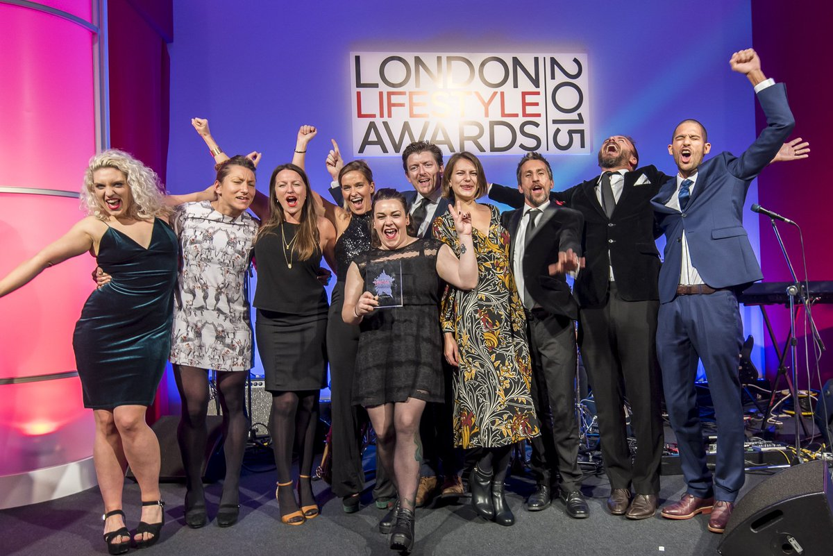 Look at us winning London Bar of The Year @LLAwards! Thanks to all who voted and god bless booze & @smeguk fridges https://t.co/vgSF6EA4JO