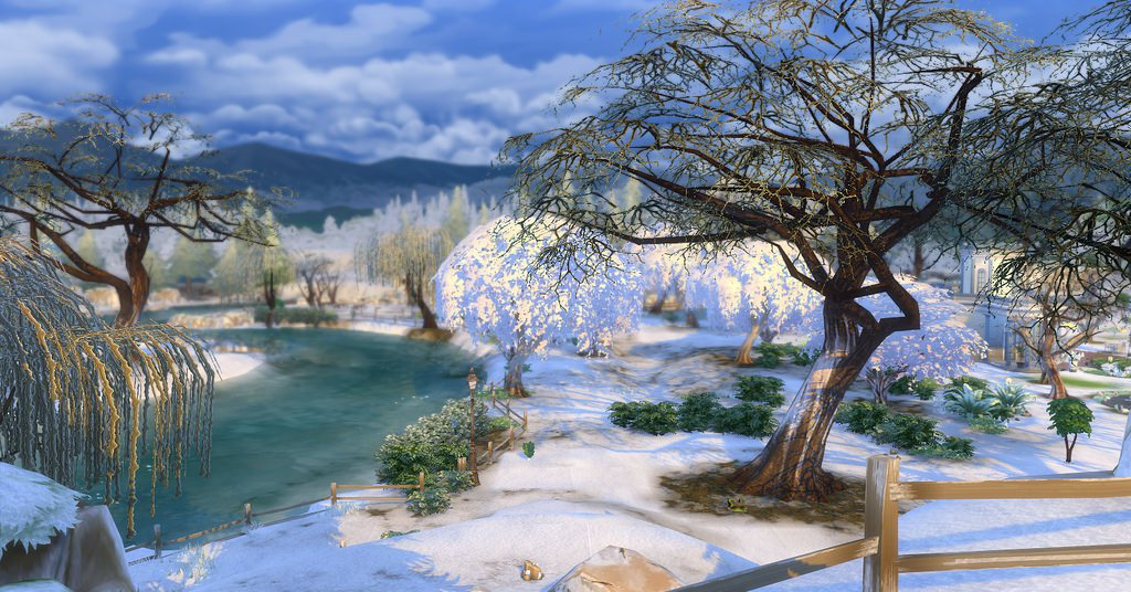 simcookie on twitter thesims4 first snow mod will be available on