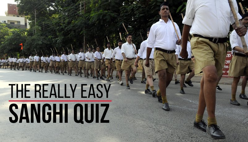 Are you an Anti-National, Pakistani or Anti-Hindu? Try out the Really Easy Sanghi Quiz :) https://t.co/8Oc3d5n0xk https://t.co/MLhpGPgj8S
