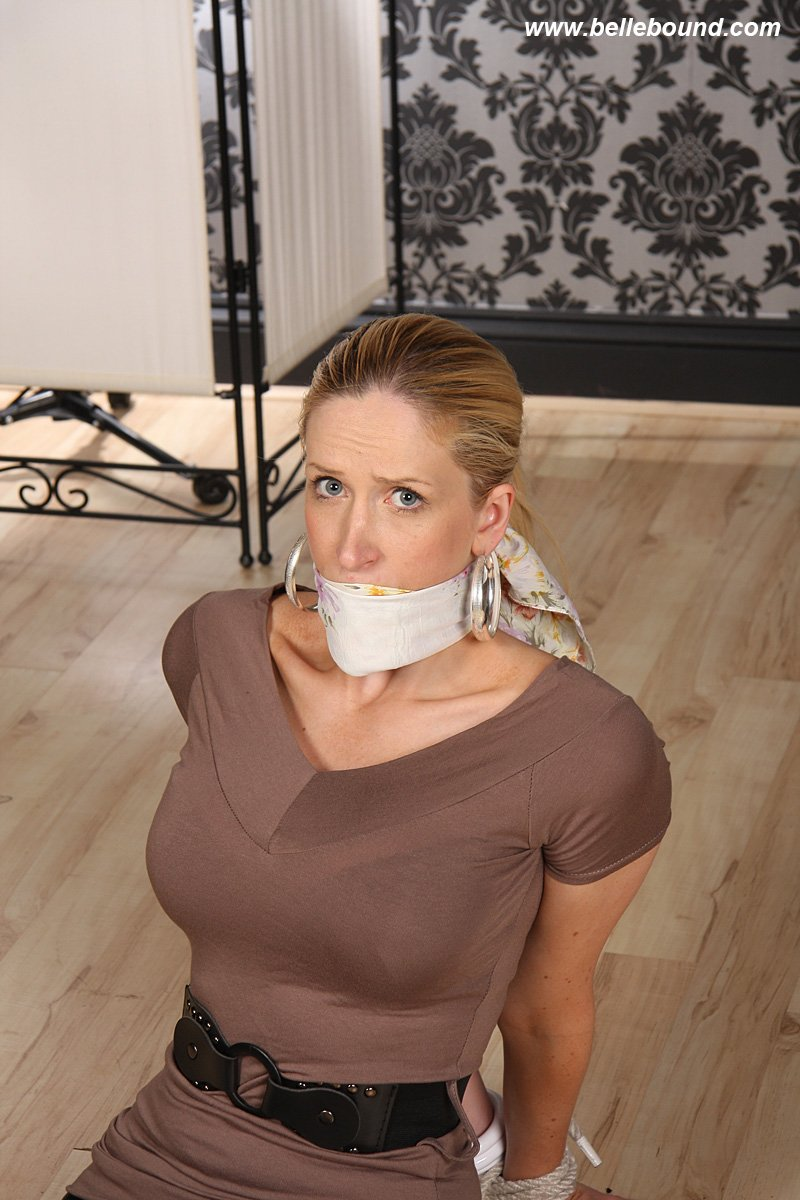 bellebound on quot blindfolded scarf gagged
