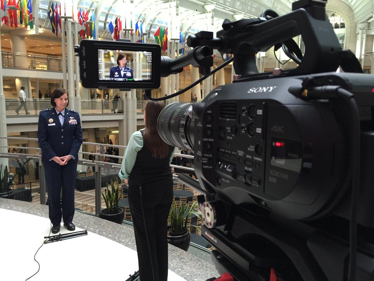Behind scenes @#disaF2I: interviewing @USDISA @C4ISRNET @larsschwetje @CorrinAmber https://t.co/kY6bLu1y3y