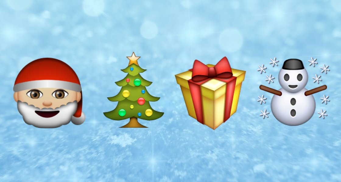 emoji on twitter where to find the christmas emojis on iphone httpstcof4by5pywoq httpstcoofp9d6gufe