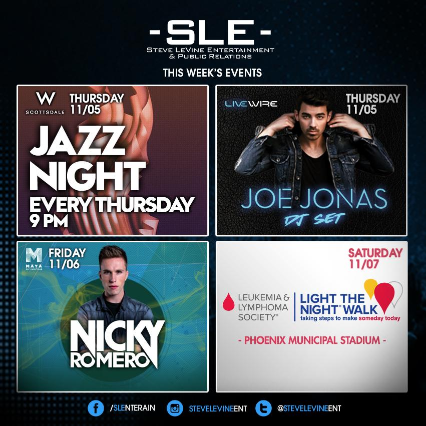 Ready for a great week of events! Don't miss @joejonas, @nickyromero & more. Info @ https://t.co/xENSvoXzxR https://t.co/8MVMn65HPa