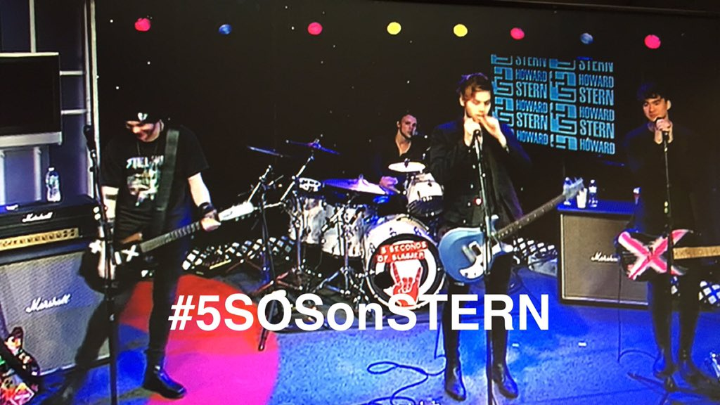 5 Seconds of Summer LIVE on the @HowardStern Show! #5SOSonSTERN @5SOS https://t.co/5vHTfrOgeL