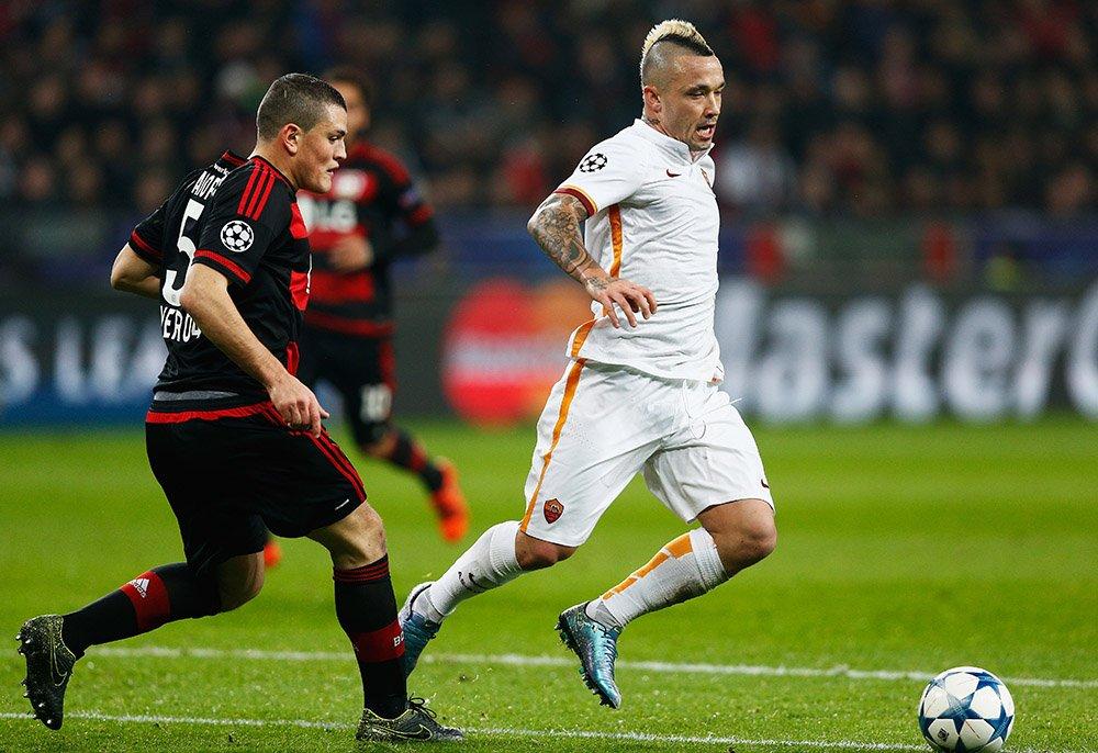 Roma-Bayer Leverkusen Rojadirecta Diretta Canale 5, tutto su Streaming Champions League Premium Calcio oggi 04-11-2015.
