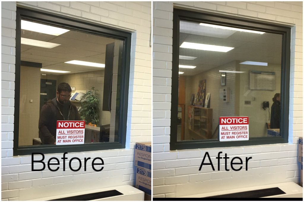 pib customs inc on twitter llumar one way mirror film