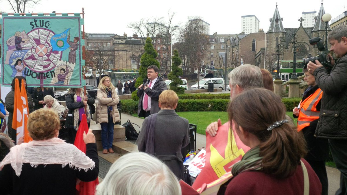 Honoured to have been asked to address rally at #stucwomen15 against #TUBill https://t.co/VOEuYgnc3n