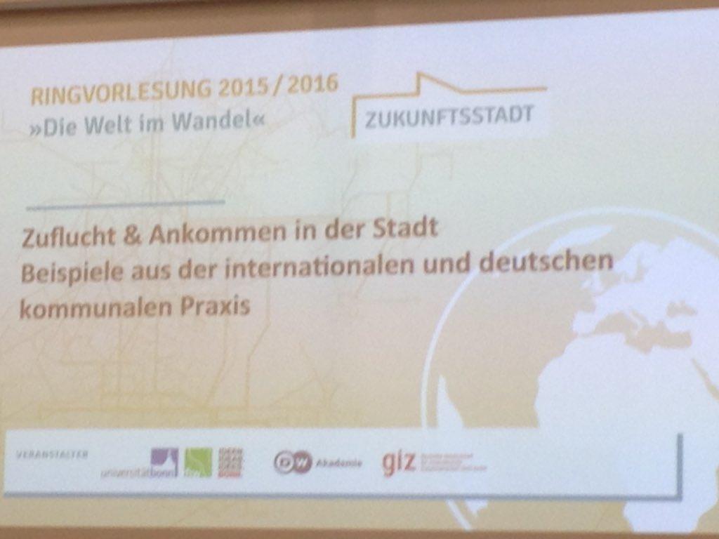 Thumbnail for Zuflucht & Ankommen in der Stadt - Beispiele aus der internationalen und deutschen kommunalen Praxis