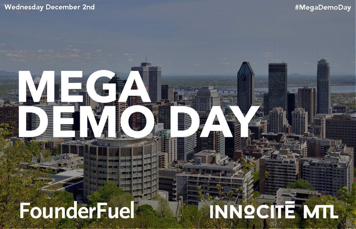 Why we're hosting a Mega Demo Day with @InnoCiteMTL: https://t.co/Q80sRwM899 | @Notman @startupfest @suopenhouse https://t.co/vmsER1RKQU