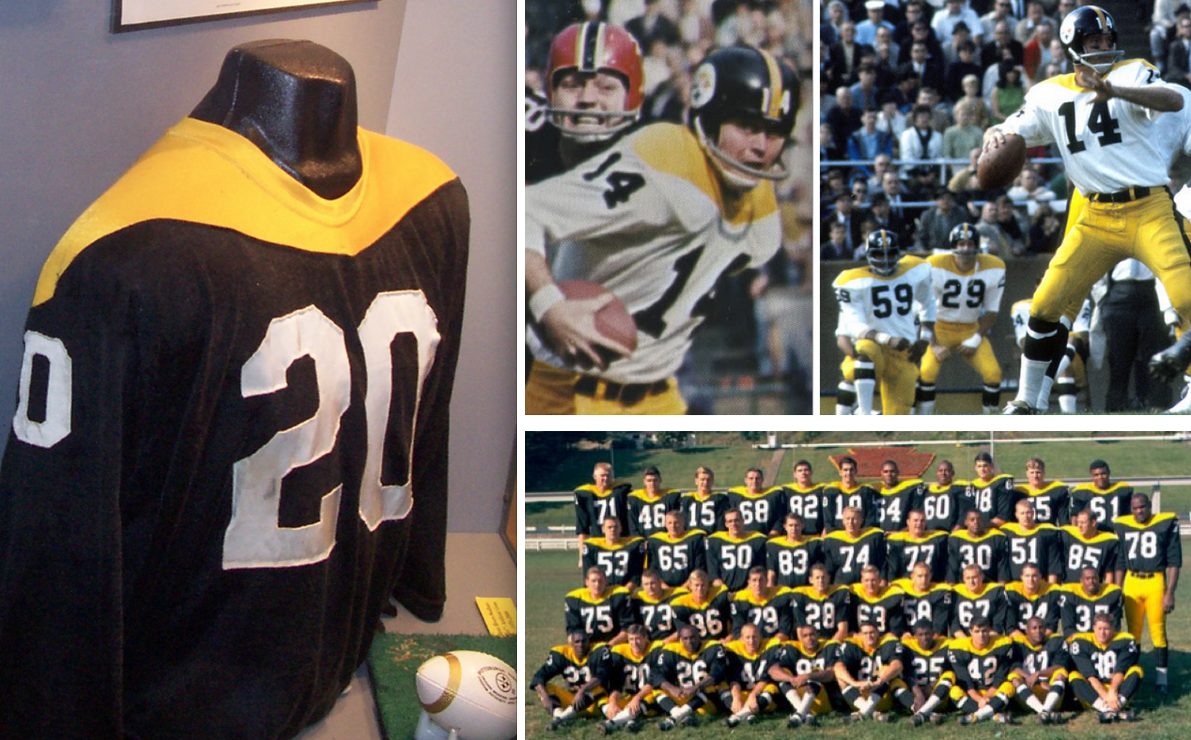 the latest 0566d ad0f5 Steelers Unveil 1978 Throwbacks | Uni Watch