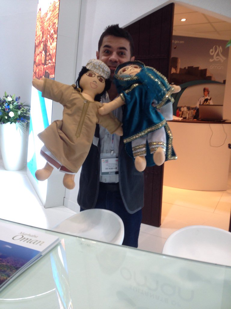 How rude of me! Sorry for getting your name wrong, Jamil & Jamila! #OmaniDolls @Oman_Tourism_UK https://t.co/rSWSoazfs1