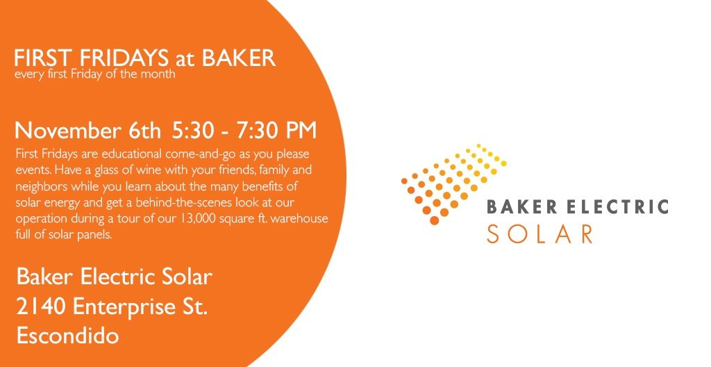 Baker Electric Solar >> Baker Electric Home Energy On Twitter Come To Our Solar