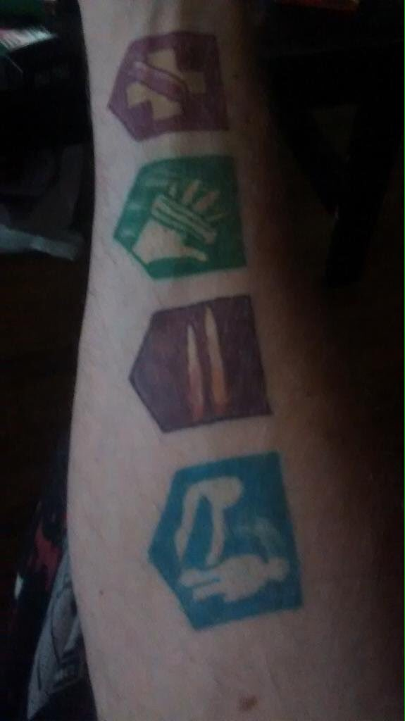 Cod Intel On Twitter Wow Check Out This Awesome Cod Zombies Perk A Cola Themed Tattoo Shared By Treyarch Bo3 Https T Co Qomrngsvny