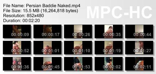 Mega Fake Booty Persianbaddie Finally Naked