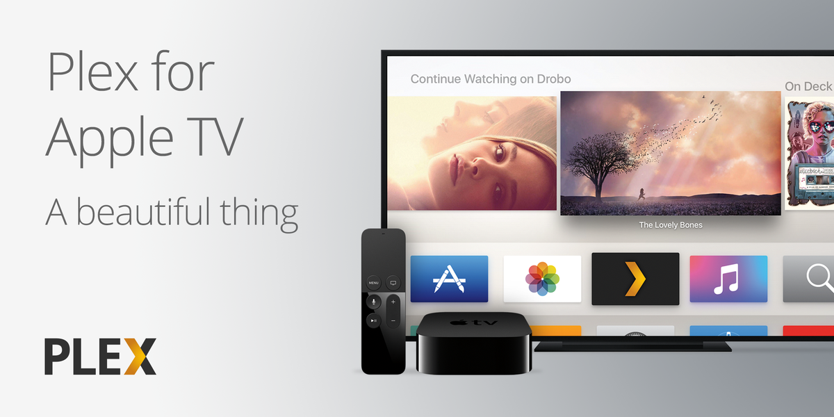 It's finally here! Plex for Apple TV. Did we mention it's FREE? Check the blog for details: https://t.co/GPJ08c2AZl https://t.co/66lLEqBt0A