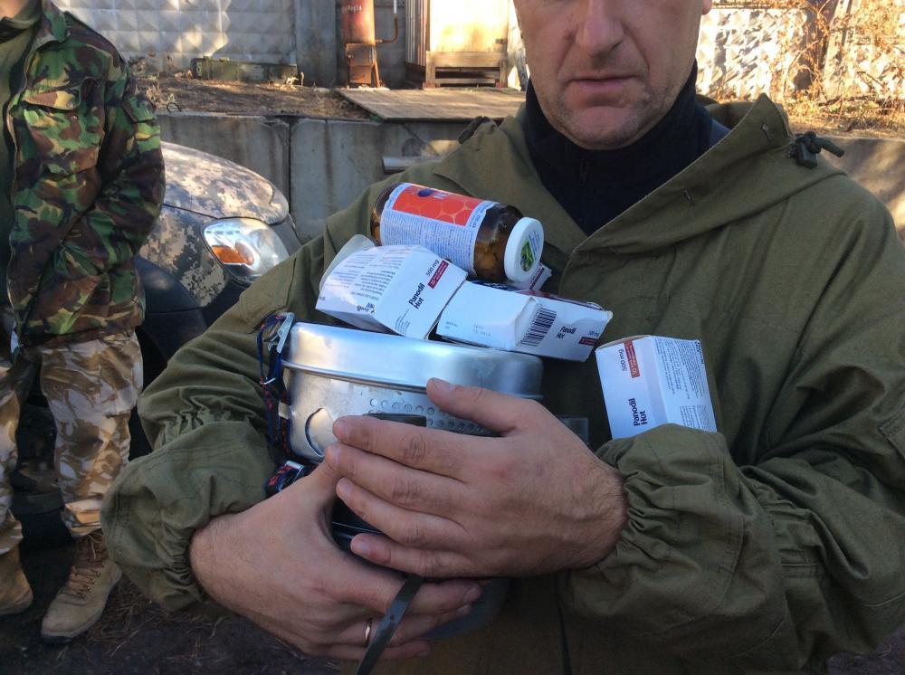 Террористы продолжают обстрелы сил АТО из гранатометов и стрелкового оружия: 5 раз били по Марьинке, 6 - по Пескам, - штаб - Цензор.НЕТ 3268