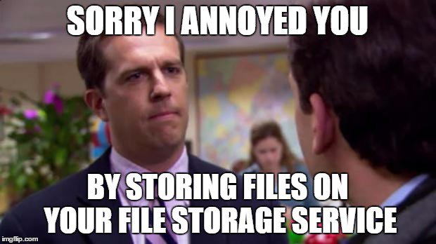 This is how I feel about @onedrive reducing storage plans https://t.co/sfhJEjR9Ax