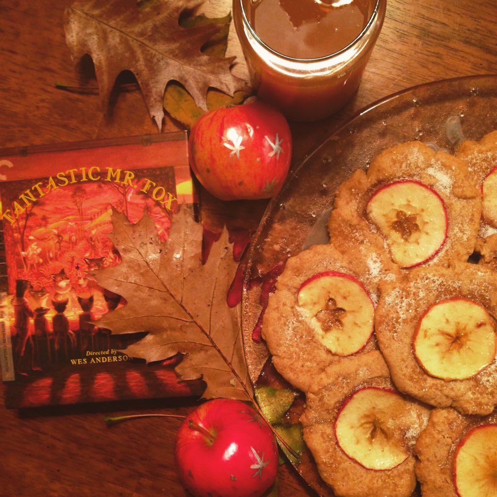 Ethan Amerine On Twitter Fantastic Mr Fox Complete With Cider Nutmeg Ginger Apple Snaps And Apples With Stars On Them Https T Co G5bn9qhrn7