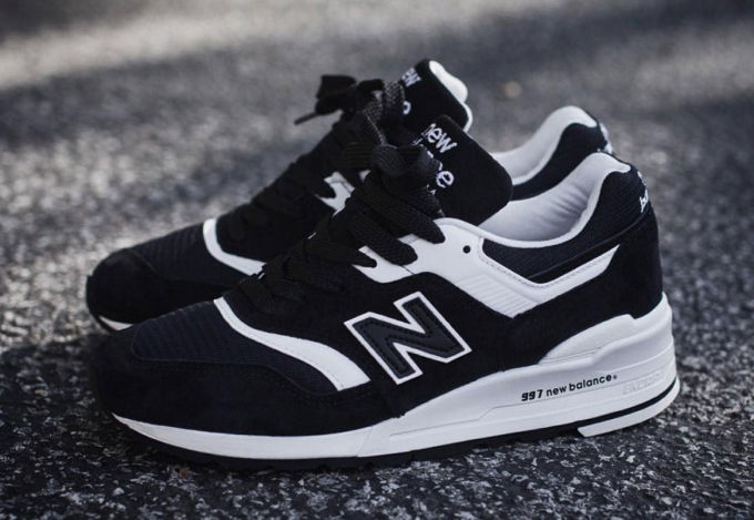 new balance 997 homme noir