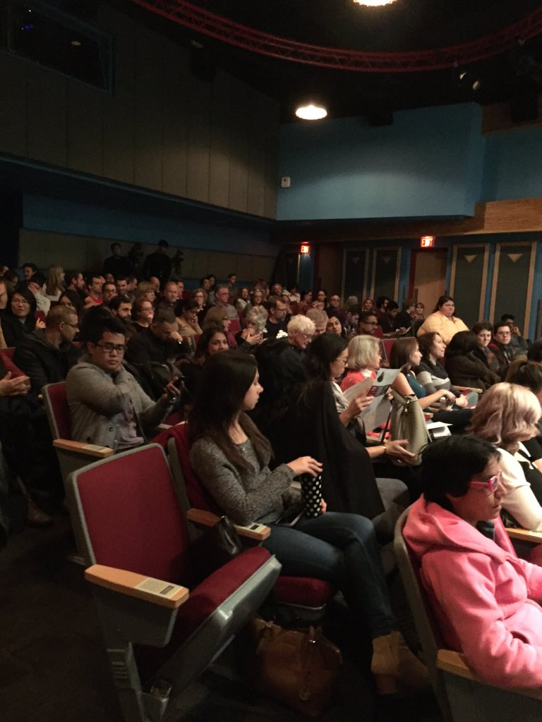 Full house tonight for #ThePsychologyofGood&Evil @thatpsychprof @KPUArts @scienceworldca https://t.co/YgXsdw9W30