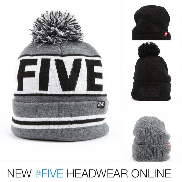 Stocked up on the new #FIVE winter beanies this morning.. Guna be big sellers 👊 https://t.co/YR0nLZgoak https://t.co/S2U2aFx5du