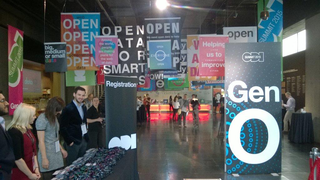 Thumbnail for Open Data Institute Summit 2015