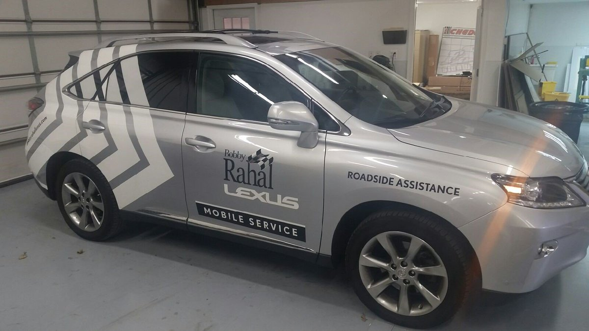 Fxg Sign And Label On Twitter 3m Graphics Installed On A Lexus