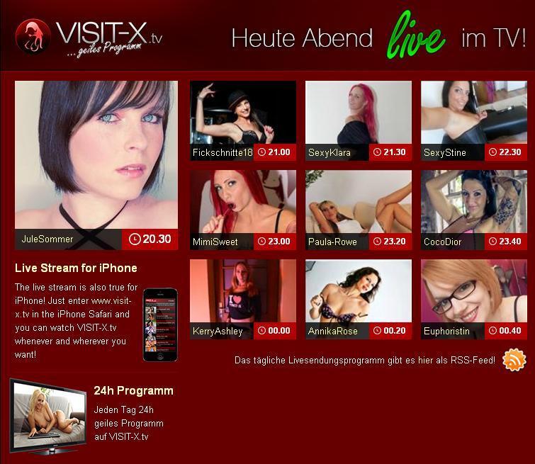 Visit x livestream