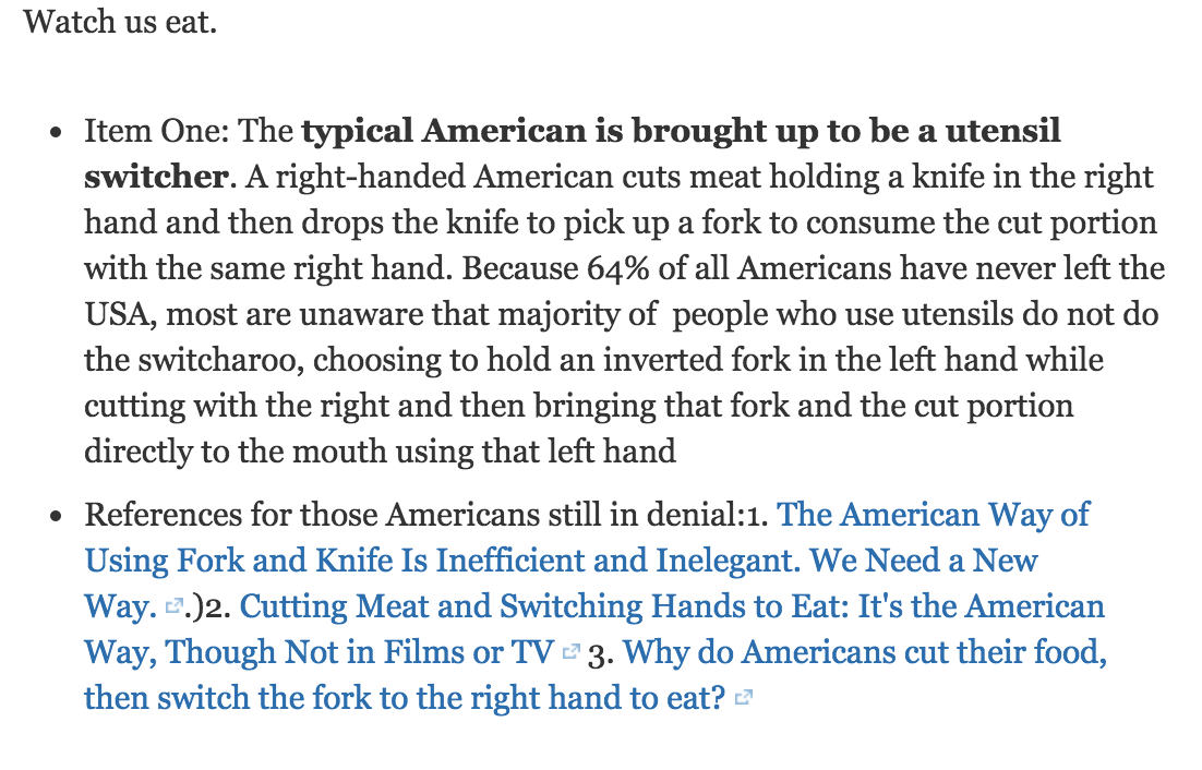 Ok. This is quite mindblowing. Apparently this is how a lot of Americans eat. What the hell. https://t.co/l6MrwSRYcU