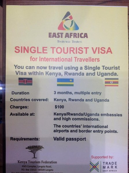 Kenya Tourism Board on Twitter: quot;The East Africa single tourist visa allows travel between Kenya