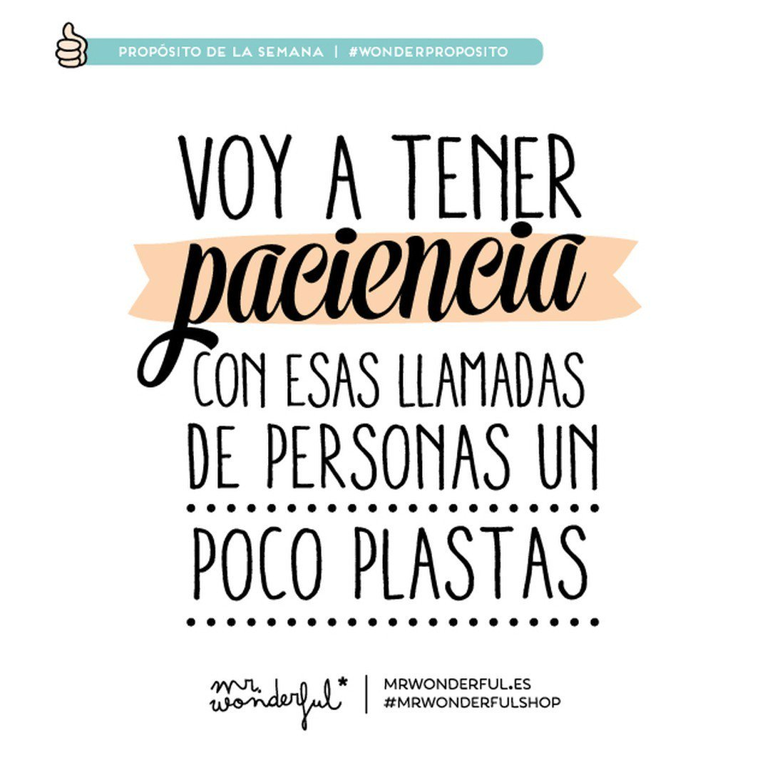 Mr wonderful on twitter hay veces que uno necesita for Frases de mister wonderful