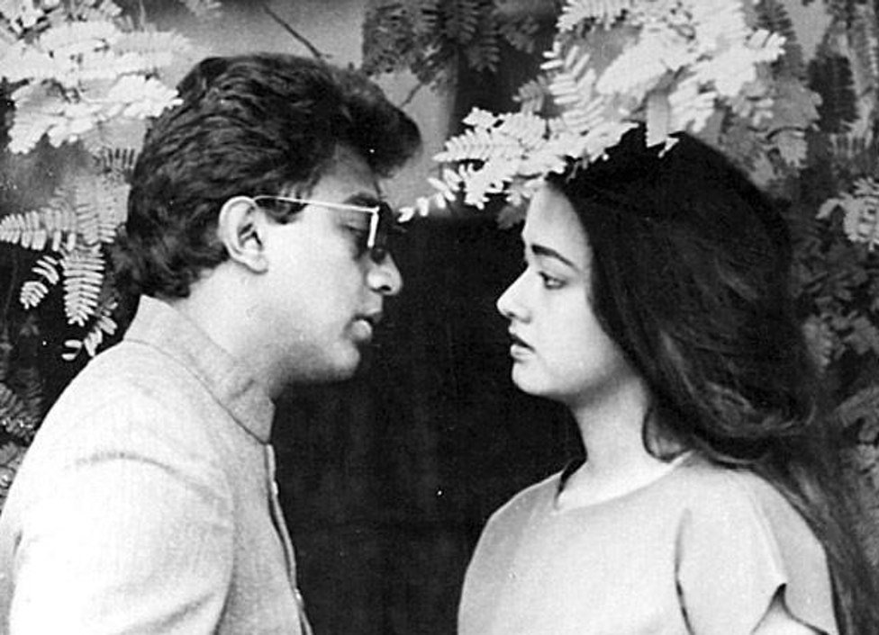 Kamal Haasan and Amala