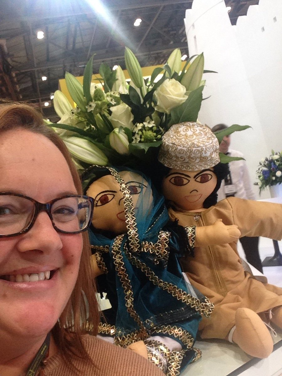 @Oman_Tourism_UK great day at #WTM #OmaniDolls were pleased to see me https://t.co/C8VKsYhRPE
