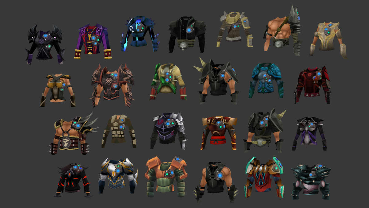 runescape on twitter quotsome concepts for augmented items