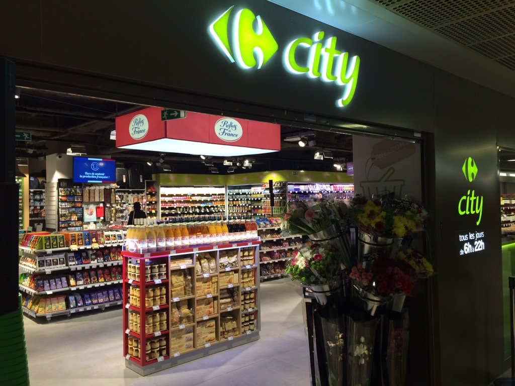 Olivier Dauvers On Twitter Carrefour City Orly En 4 Photos