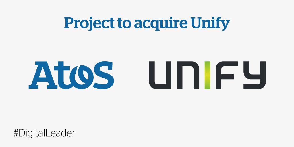 .@Atos to acquire @UnifyCo, a global leader in collaboration & unified comms solutions #DigitalLeader https://t.co/k9MmzNY64L