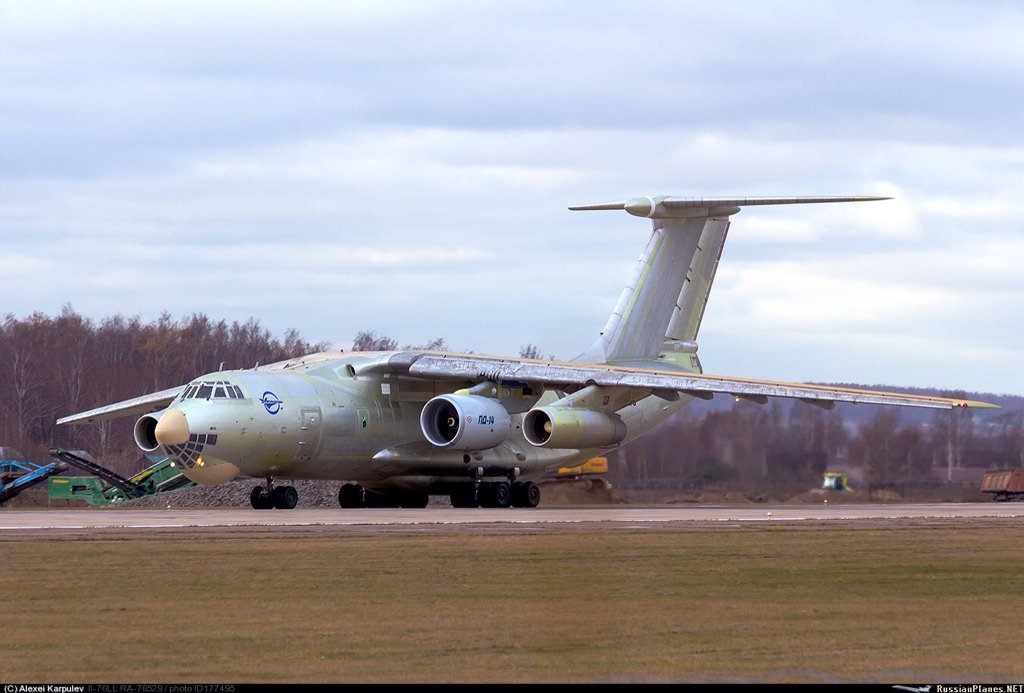 IL-76 Special-Mission Modifications CS582MWWEAATnzU
