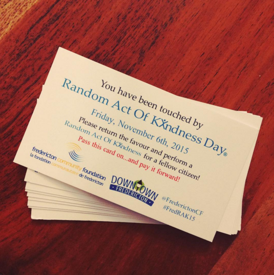 Celebrate Random Act of Kindness Day this Friday! Share your act of kindness with the hashtag #FredRAK15 https://t.co/lytuq3GLyB