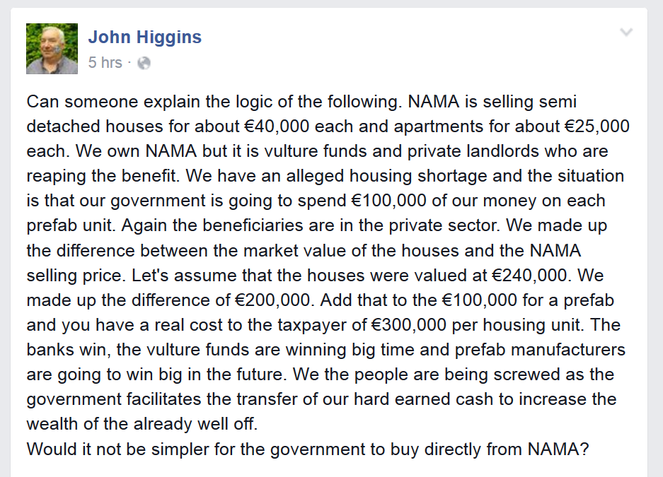 A question we should all be asking, on housing and costs. @irishexaminer @IrishTimes @Independent_ie @drivetimerte https://t.co/BKpYGnUIxS
