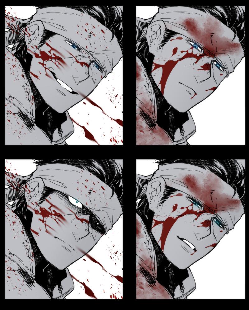 を 刺す とどめ