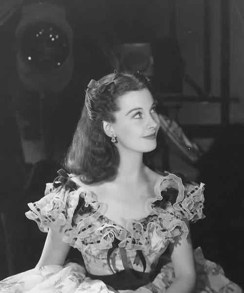 Fascinating Historical Picture of Vivien Leigh in 1939