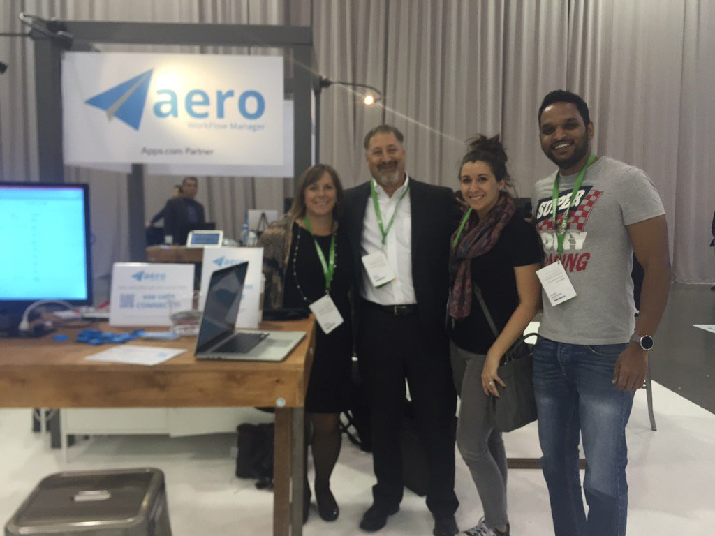 The Aero Booth at QuickBooks Connect 2015