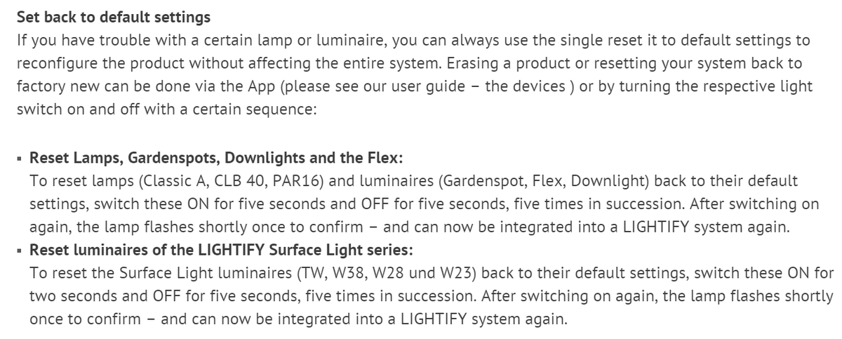 "I just had to follow this process to hard reset a smart home bulb. *This* is what the ""future"" has come to. https://t.co/vQ4NIlxe2s"