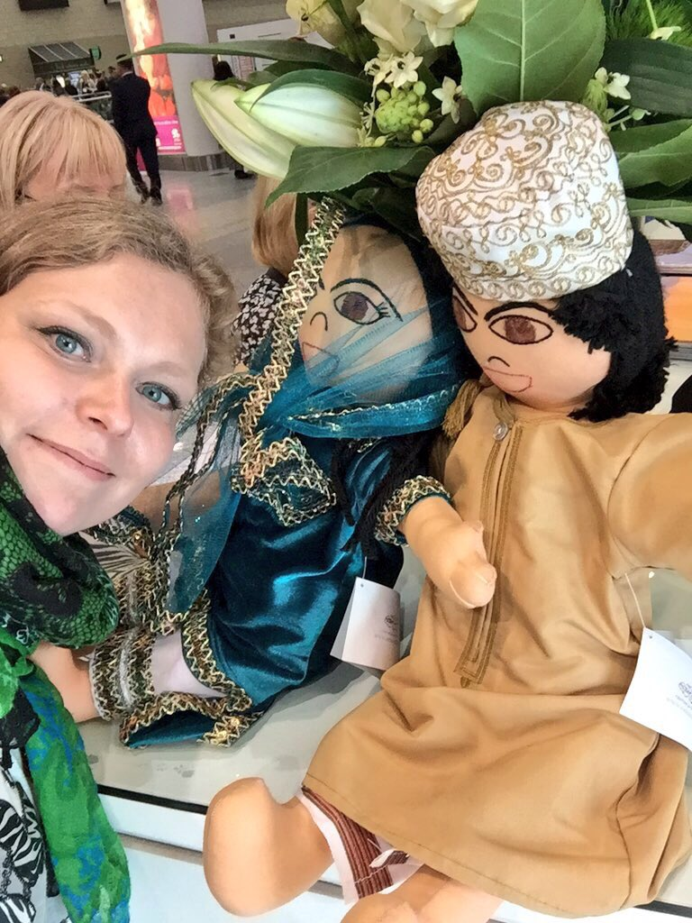 Oman, I am ready for you - even Jamil and Jamila think I need to get there soon! @oman_tourism_uk #OmaniDolls https://t.co/hGVAJRlPgW