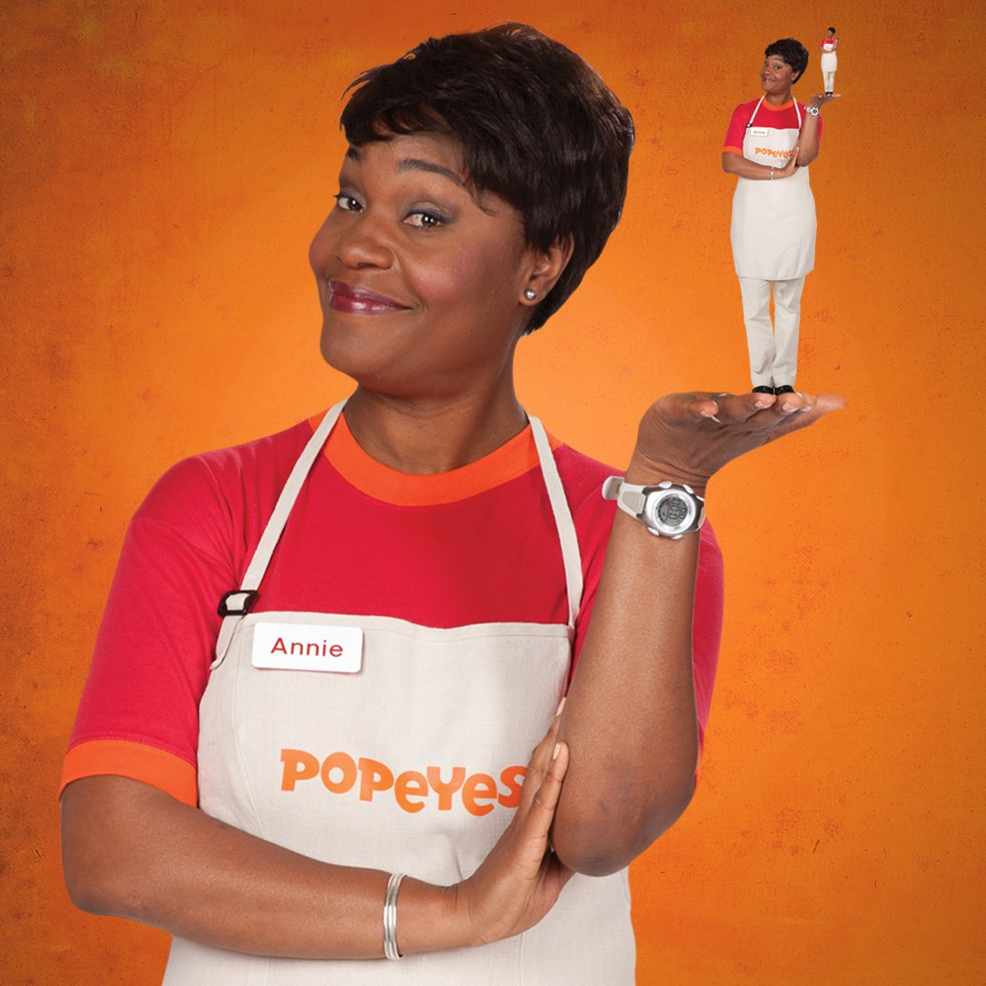 "Popeyes Louisiana Kitchen Lady Popeyes Chicken On Twitter ""nationalchickenladyday We Honor Our"