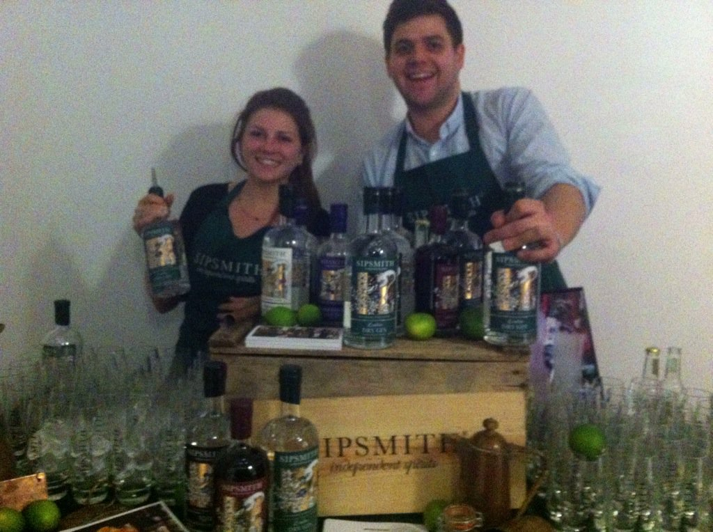 Lovely to see @sipsmith gin distillery getting the drinks flowing at the official launch of Britain's #FoodPioneers https://t.co/UwedHTTNbW